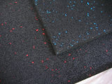 синь EPDM 15mm толщиная ставит точки резиновый плитка гимнастики для Crossfit