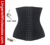 Корсет Shapewear тренировки шкафута шнурка женщин Boned сталью