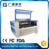 estaca de alta velocidade do laser 80W e Special da máquina de gravura para o pano e o couro