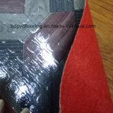 Le grand dos du roulis 0.7mm de plancher de vinyle a gravé en relief