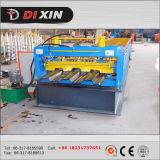 Dixin 980 a formé le roulement de haute résistance le Decking d'étage de structure métallique que laminent à froid former la machine