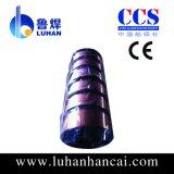 溶接ワイヤ(ER70S-6)を保護する二酸化炭素のガス