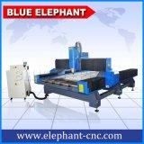 Máquina de piedra del ranurador del CNC 1325, máquina de piedra de la escultura del CNC 3D para la fabricación de la piedra sepulcral