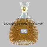 Fábrica directamente suministrar botellas de whisky, botellas de vidrio para licor, vino 750ml 700ml