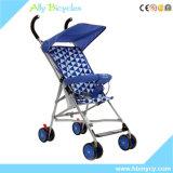 Einfacher justierbarer Rad-Baby-Spaziergänger der Fußrollen-360-Degree