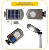 luz solar del jardín de 5W LED con la cubierta plástica del ABS