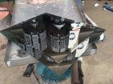 Macchina di smussatura verticale diritta di vetro di controllo automatico del PLC di 10 Spindes