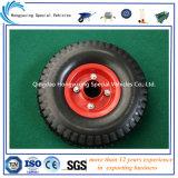 Neumático de goma sólido 260*85 de la rueda de la espuma de la PU