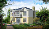 Casa de campo bonita pré-fabricada de 2 andares para a venda