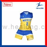 Uniforme modificado para requisitos particulares del baloncesto de la sublimación del diseño con alta calidad