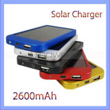 SolarMobile Charger 2600mAh Portable Power Bank Charger