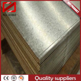 Plats galvanisés plongés chauds de tôle d'acier fabriqués en Chine