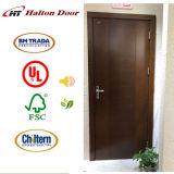 Puerta de madera enrasada del interior para la alta calidad de madera de la puerta del rubor de la sala de estar/de la puerta enrasada