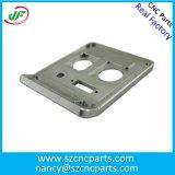 O pó preto revestiu 6061 peças fazendo à máquina de alumínio do CNC para o equipamento da precisão