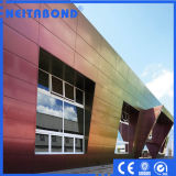 Chamäleon-Spektrum-überzogenes zusammengesetztes Aluminiumpanel von Linyi Xingda