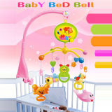 Bebê B/O Products ABS Material Rotating Bed Bell Toy com Music e Light (10214174)