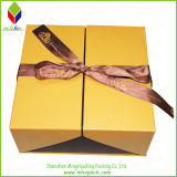 Chocolate Gift Packaging Box com Ribbon