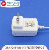 uso eficaz da energia do nível da CORÇA VI do adaptador de 24V500mA AC/DC com FCC do UL