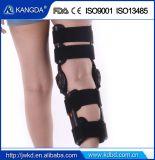Le ce de FDA a reconnu le support de genou articulé orthopédique de ROM de support de genou pour le genou et le ligament blessés
