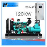 Генератор двигателя дизеля высокого качества двигателя 120kw 150kVA Weifang с ATS