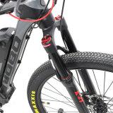 Nueva bici de montaña eléctrica de 27.5 pulgadas 2017 con la suspensión doble, MEDIADOS DE motor de Bafang