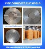 Pancake tubo de alumínio da bobina para o refrigerador