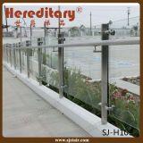 Система поручня нержавеющей стали стеклянная в Railing террасы (SJ-S135)
