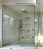 A porta Drlling do chuveiro fura vidro Tempered com Ce e SGCC