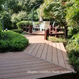 Holz-zusammengesetzter Plastikbodenbelag für im Freienlandschaft