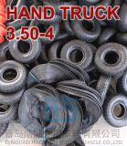 Hand-LKW, Plattform-Laufkatze, Gerätetransportwagen, Karren-Reifen 3.50-4