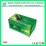 Micro inversor da potência do carro do UPS 2000W com indicação digital (QW-M2000UPS)