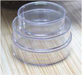 Contenitore su ordinazione di tubo del regalo di imballaggio di plastica/contenitore rotondo contenitore di cilindro