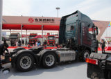 높은 Quality Saic Iveco Hongyan C100 390HP 6X4 Tractor Truck Euro 4 (Chang Road Versions)