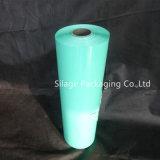 Película fundida LLDPE do envoltório da ensilagem da cor verde 750mm
