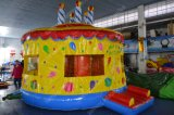 Brithday inflable Cake Bounce Castle para Kids