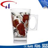 caneca de vidro da água de Decaled do Sell 220ml quente (CHM8078)