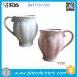 Tazza di ceramica operata classica della porcellana della tazza di tè della prima colazione
