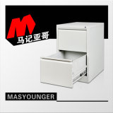 Gabinete de arquivo da gaveta do vertical 2 do armazenamento do metal do uso do escritório