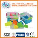 O milagre insolúvel ultra brandamente colorido lixa com ferramentas plásticas