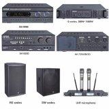 amplificador de potência audio certificado Ce do karaoke 80W com USB