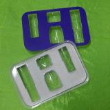 Vacío que forma las bandejas del PVC para los cosméticos con cartulina