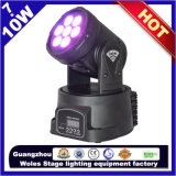Disco Light Moving Head del LED 7PCS*10W 4 In1 RGBW Stage