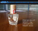 6ml-9ml leeren Glasnagellack-Flasche mit Schutzkappe
