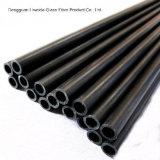 Tube de fibre de carbone de résistance chimique/pipe de haute résistance, tube de fibre de carbone