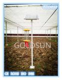 Lampe solaire de tueur d'insecte/parasite pour le tueur/contrôle de parasite de serre chaude de plante verte