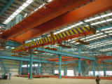 16t Electric Magnetic Double Girder Overhead Crane (control de calidad)