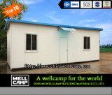 Geprefabriceerd huis van de Hulp van de overheid het Duurzame Eenvoudige Modulaire