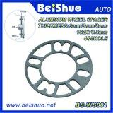 5mm de alumínio da liga 4 e 5 espaçador da roda do talão para o auto veículo