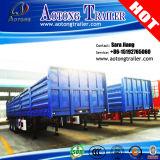 판매를 위한 세 배 차축 40FT 평상형 트레일러 콘테이너 측벽 트레일러