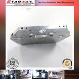 Pezzi meccanici lavorati abitudine di CNC dell'alluminio di precisione delle componenti di Schang-Hai